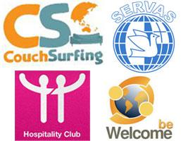 Les principaux réseaux  d'hospitalité