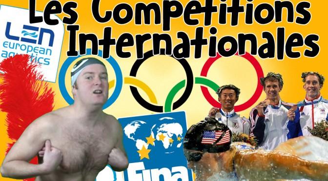 Les Compétitions Internationales en Natation