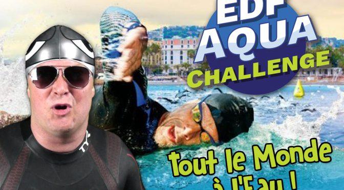 Les Courses en Eau Libre en France avec l'EDF AquaChallenge