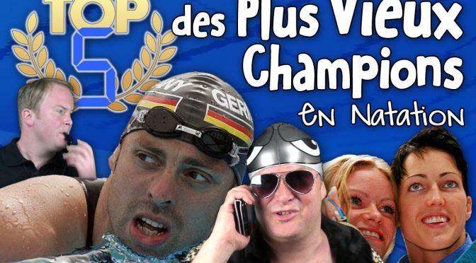 TOP 5 des Plus Vieux Champions de Natation
