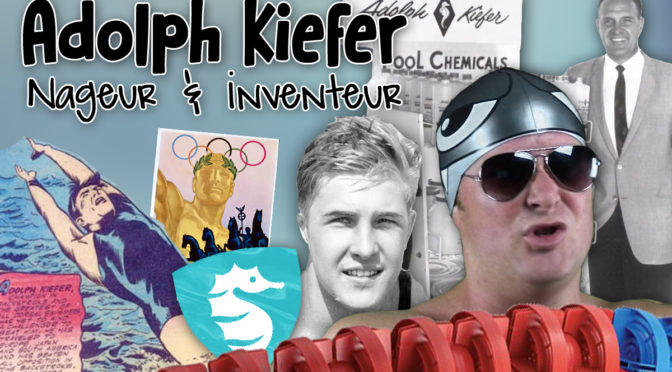 Adolph Kiefer, Nageur & Inventeur
