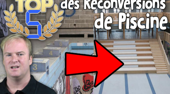 TOP 5 des Reconversions de Piscine